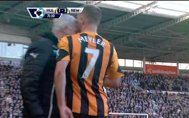 Alan pardew newcastle David Meyler Hull City