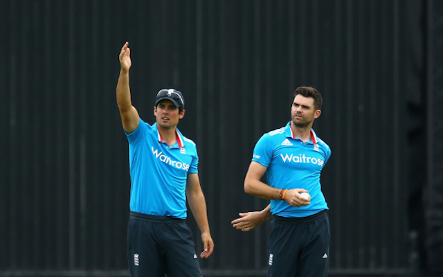England paceman Jimmy Anderson backs Alistair Cook dropping ahead of 2015 cricket World Cup