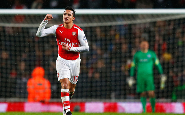 (Image) Arsenal have found the next Thierry Henry says Alexis Sanchez
