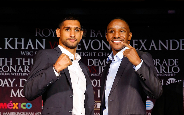 (Video) Devon Alexander vs Amir Khan: Head-to-head at press conference