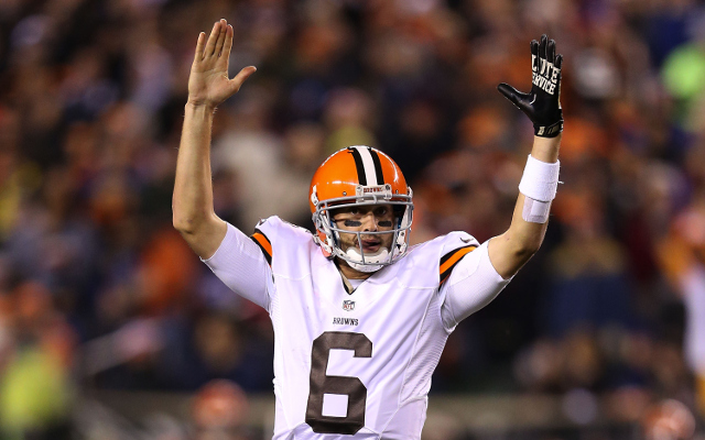 REPORT: Cleveland Browns to move on without QB Brian Hoyer next season