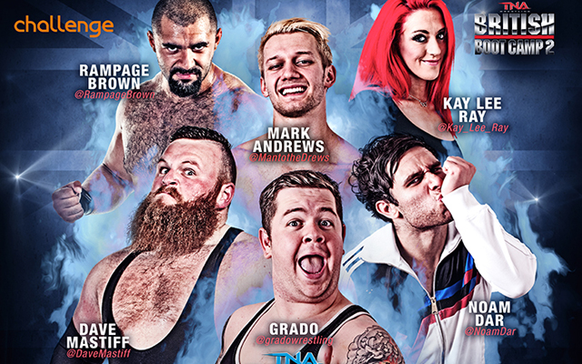 TNA UK Tour Update: British Boot Camp Finalists Will Compete In Three TV Events
