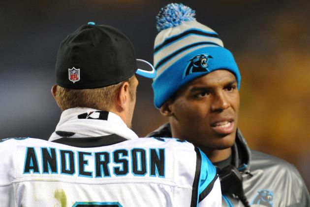 OUT: Cam Newton out for Carolina Panthers, Anderson to start at QB