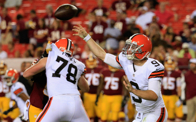 Cleveland Browns to activate QB Connor Shaw and start him
