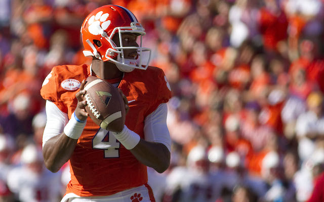 INJURY: Clemson QB Watson to miss bowl game with knee injury
