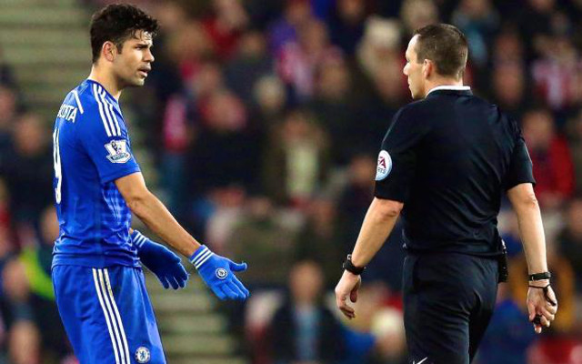 Referees pick on Diego Costa, says angry Chelsea boss Jose Mourinho