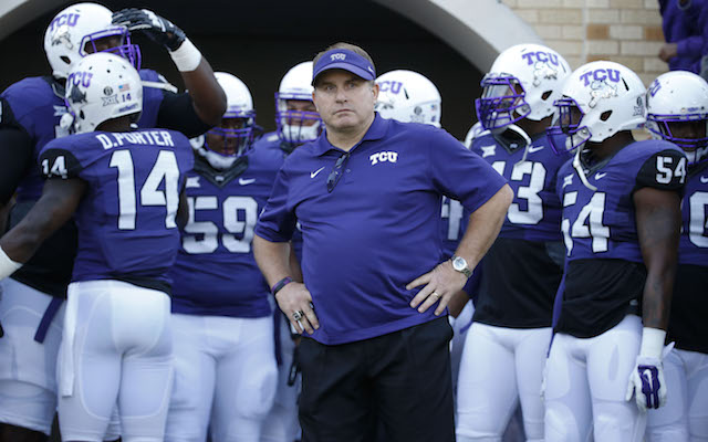 TCU head coach Gary Patterson named Coach of the Year
