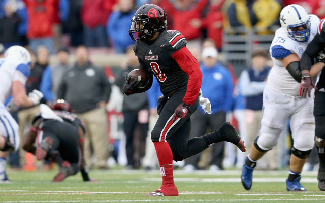 REPORT: Louisville safety Gerod Holliman to enter NFL Draft