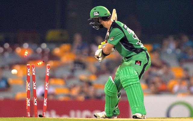 Glenn Maxwell apologises to Melbourne Stars fans for 'dumb' and 'sh*t' dismissal in Big Bash loss to Brisbane Heat