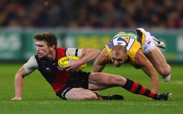 INJURY BLOW: Essendon key midfielder to miss large chunk of AFL pre-season