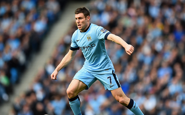James Milner transfer latest: Man City midfielder has held talks with Arsenal, Liverpool and current club