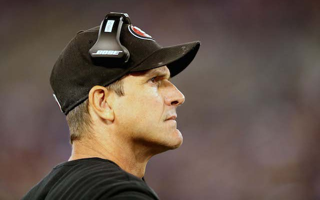REPORT: 49ers head coach Jim Harbaugh not going to Michigan