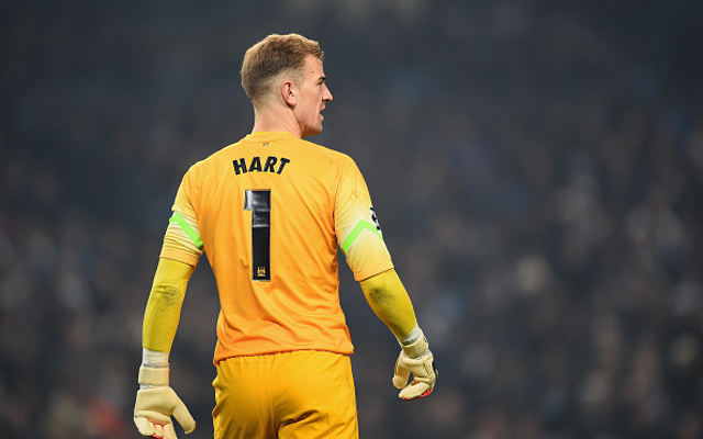 Joe Hart Manchester City