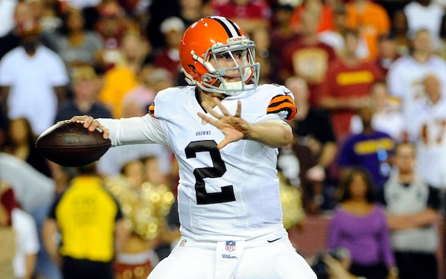 "Cleveland Browns QB Johnny Manziel wants to ""be the guy"" despite bad games"