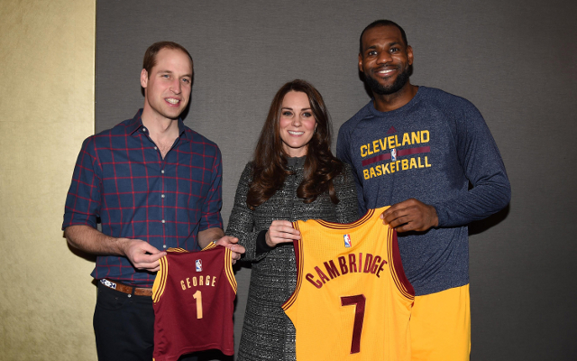 (Video) NBA news: Prince William and Kate Middleton attend NBA game
