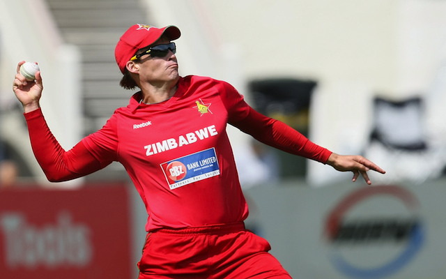 2015 Cricket World Cup: Zimbabwe star banned from bowling just seven weeks out from tournament