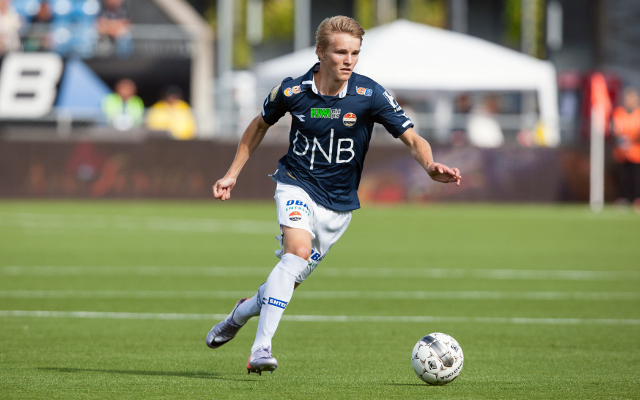 Martin Odegaard joining Real Madrid, with Premier League trio missing out