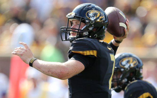 (Video) Missouri QB Maty Mauk scrambles and completes deep pass to WR Jimmie Hunt again