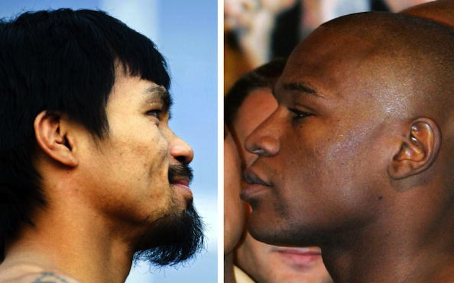 OFFICIAL: Floyd Mayweather vs Manny Pacquiao fight announced