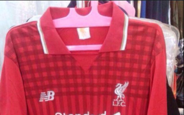 (Image) Leaked design for Liverpool's 2015/16 New Balance shirt