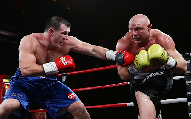 Cronulla Sharks captain Paul Gallen wants another heavyweight boxing bout before the NRL season
