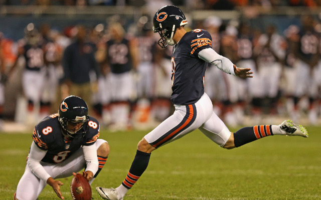 INJURY: Chicago Bears K Robbie Gould questionable with quad injury