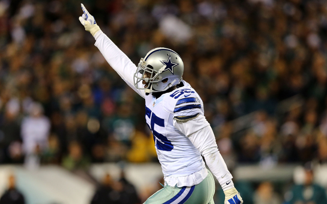 Dallas Cowboys LB Rolando McClain to miss Week 17 with illness