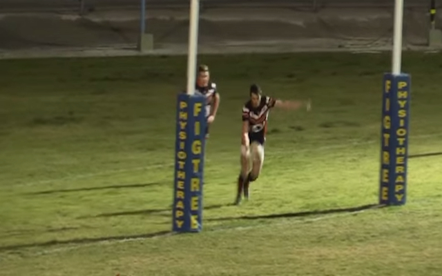 (Video) HUGE! Is this the longest goal line dropout in rugby league history?