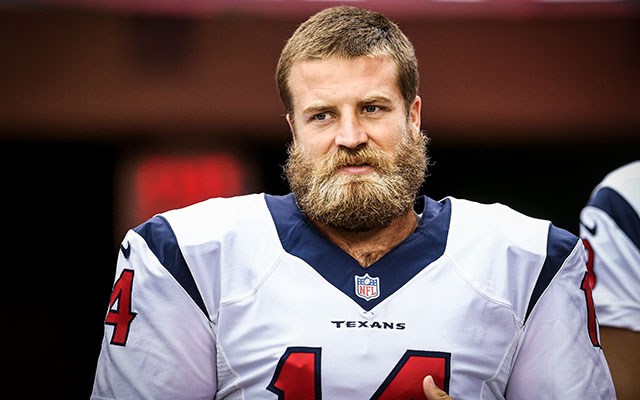 INJURY: Houston Texans QB Ryan Fitzpatrick carted off with leg injury