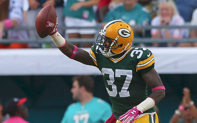 INJURY: Green Bay Packers CB Sam Shields questionable for Monday night