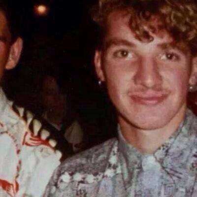 Young Brendan Rodgers