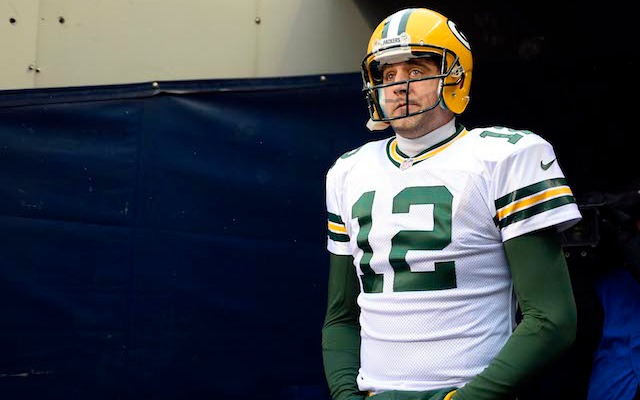 INJURY: Green Bay QB Aaron Rodgers misses practice with calf injury