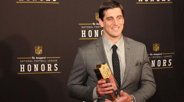 Aaron Rodgers NFL MVP