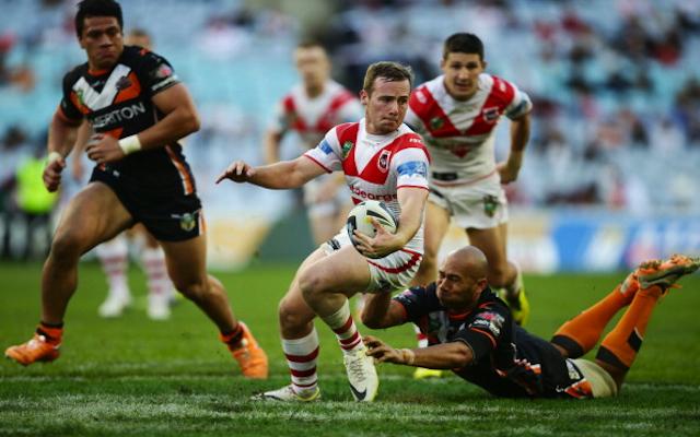 (Video) Try! St George Illawarra hit back