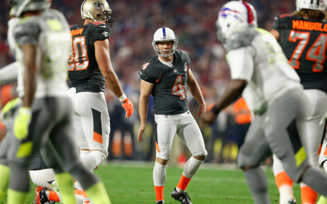 Indianapolis Colts' Adam Vinatieri frustrated by narrower goal posts