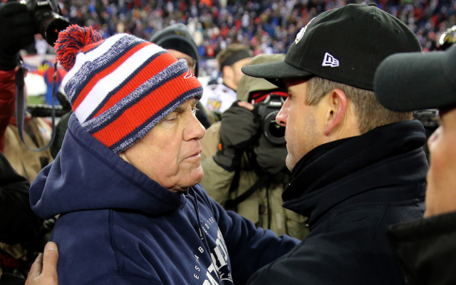 Baltimore Ravens HC John Harbaugh names Bill Belichick best coach of this generation