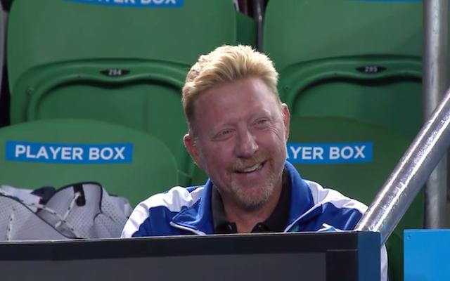 (Video) Australian Open 2015: Novak Djokovic makes fun of coach Boris Becker following quarter-final win