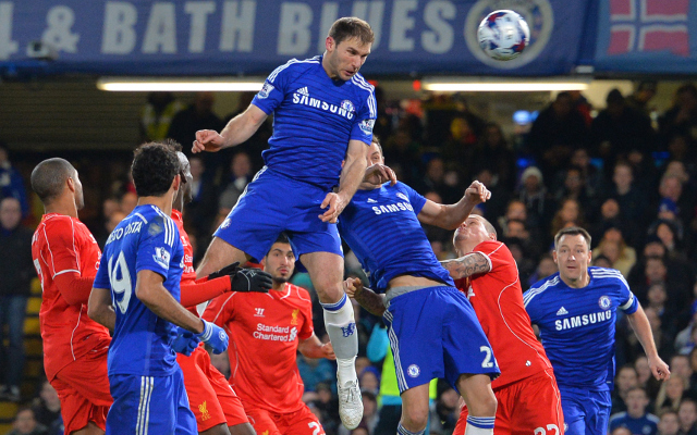 Chelsea 1-0 Liverpool – Capital One Cup – Blues player ratings as Ivanovic goal settles tie