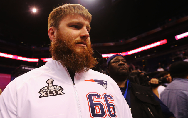 New England Patriots C Bryan Stork listed as questionable for Super Bowl XLIX