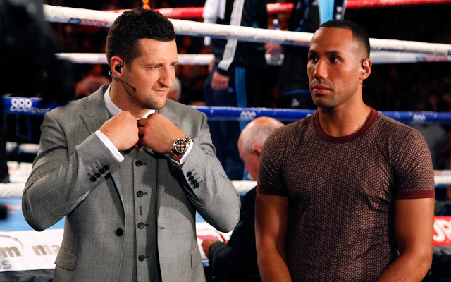 "Boxing news: Carl Froch says James DeGale would get ""absolutely knocked out"" by him"