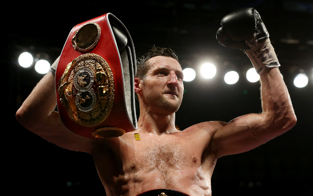 Carl Froch could lean towards domestic rival after Julio Cesar Chavez Jr defeat
