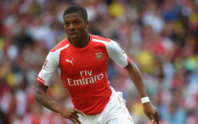 Arsenal youngster Chuba Akpom warns off Liverpool and signs new deal