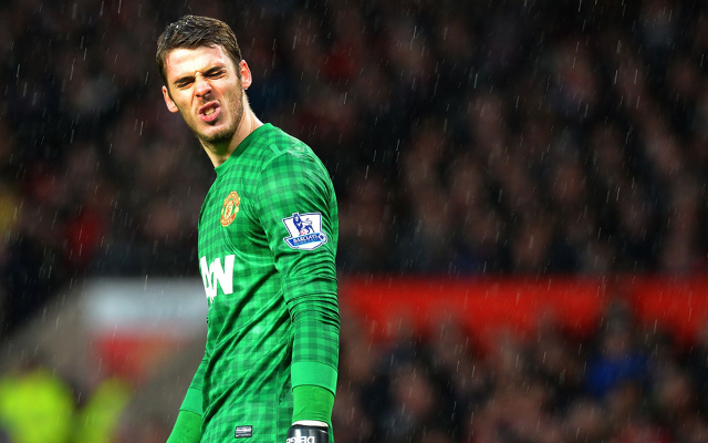 Louis Van Gaal admits he's powerless to stop David de Gea leaving Manchester United