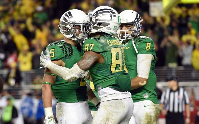 REPORT: Oregon WR Devon Allen to miss national championship with knee injury