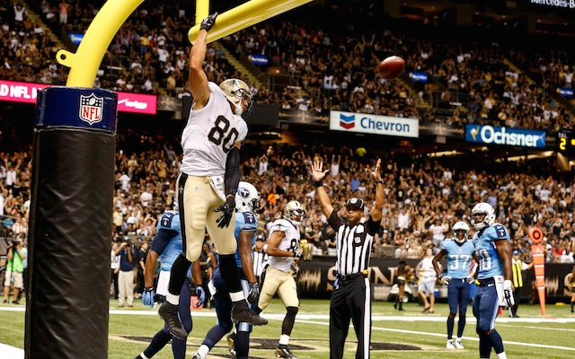 NFL news: New Orleans Saints TE Jimmy Graham asks for NFL dunking rule change