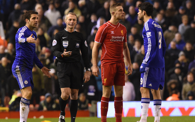 Costa and Henderson had tunnel bust-up following Liverpool 1-1 Chelsea Capital One Cup clash