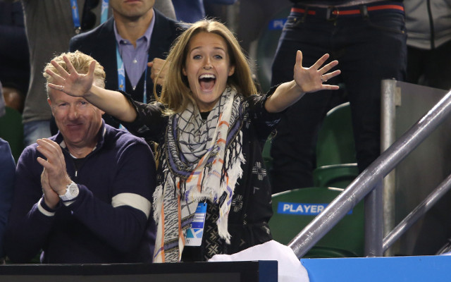 Andy Murray defends swear-filled outburst from fiancee Kim Sears during Australian Open victory