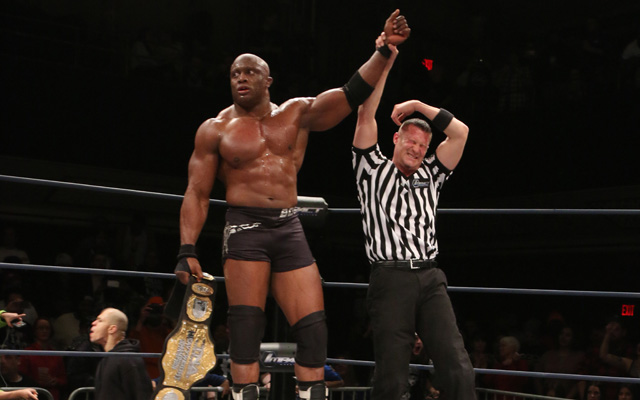 TNA World Heavyweight Champion Bobby Lashley talks about coming to the UK, mixing professional wrestling with MMA and battling Bobby Roode