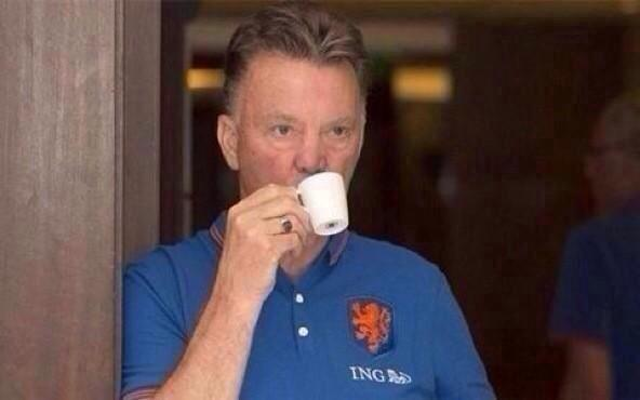 LVG reacts sarcastically to Paul Scholes Man United criticism