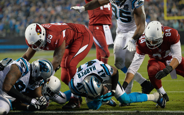 (Video) Arizona Cardinals RB Marion Grice breaks plane for touchdown